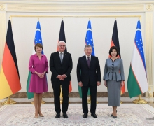 Main events of German President's official visit start
