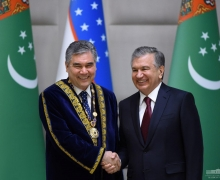 Turkmenistan's President is awarded the title of Honorary Academician of the Academy of Sciences of Uzbekistan