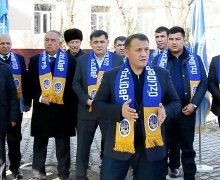 Meeting of candidates from UzLiDeP with Chartak voters