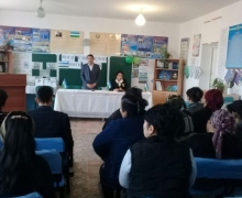 Voters support the program of the candidate for deputy from UzLiDeP Rasul Kusherbayev