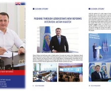 European magazine covers the activity of UzLiDeP