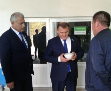 Meeting of UzLiDeP head Aktam Khaitov with Surkhandarya entrepreneurs