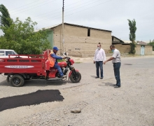 When will the streets of Navruz makhalla be repaired?