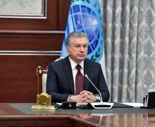 Shavkat Mirziyoyev takes part in the SCO Summit