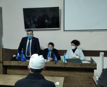 The essence and meaning of the Address were explained to representatives of the primary party organizations