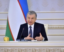 Shavkat Mirziyoyev chairs a meeting on the priorities of agriculture and water management for 2021